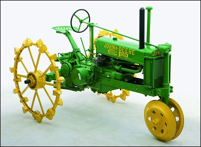 Image from The Art of the John Deere Tractor - used with permission